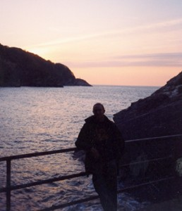 Sunset near Lester Point, Combe Martin