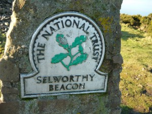 One possible route: Selworthy Beacon with cairn and trig point