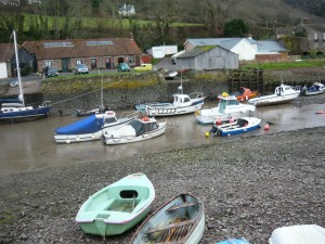 Boats at Porlock Weir