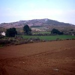 We're moving off the moorland and onto fertile, recently-ploughed farmland instead