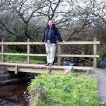 Strange how bridges over tiny streams always provoke thoughts of steep climbs