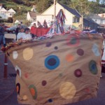 Combe Martin's Earl of Rone festival in 1997