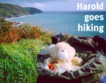 Harold goes hiking