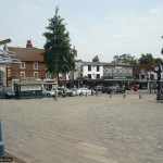 Start and finish in Hitchin's market square, which dates back to Saxon times