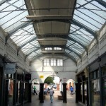 This used to link the market and stables