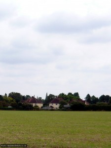 Looking over at the fringes of Ickleford