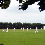 Village cricket at Ickleford recreation ground