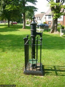 The old pump at Ickleford