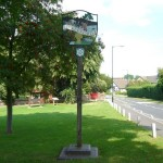 Ickleford village sign