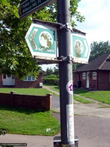 Look for the Icknield Way riders' route signs to get you on your way