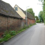 Blackhorse Lane ends with a fine old farm building