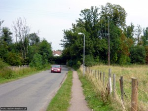 Rather than head into the country, the route stays on roads to Hitchin