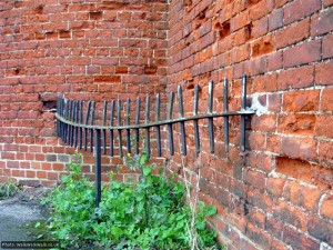 Wonder what this used to fence off?