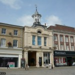 The old Corn Exchange is now a venue